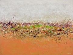 Pumpkin Garden, Painting, Acrylic on Canvas