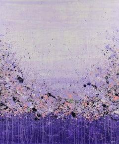 Purple Sensation, Painting, Acrylic on Canvas