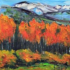 Autumn in Yosemite, Oil Painting