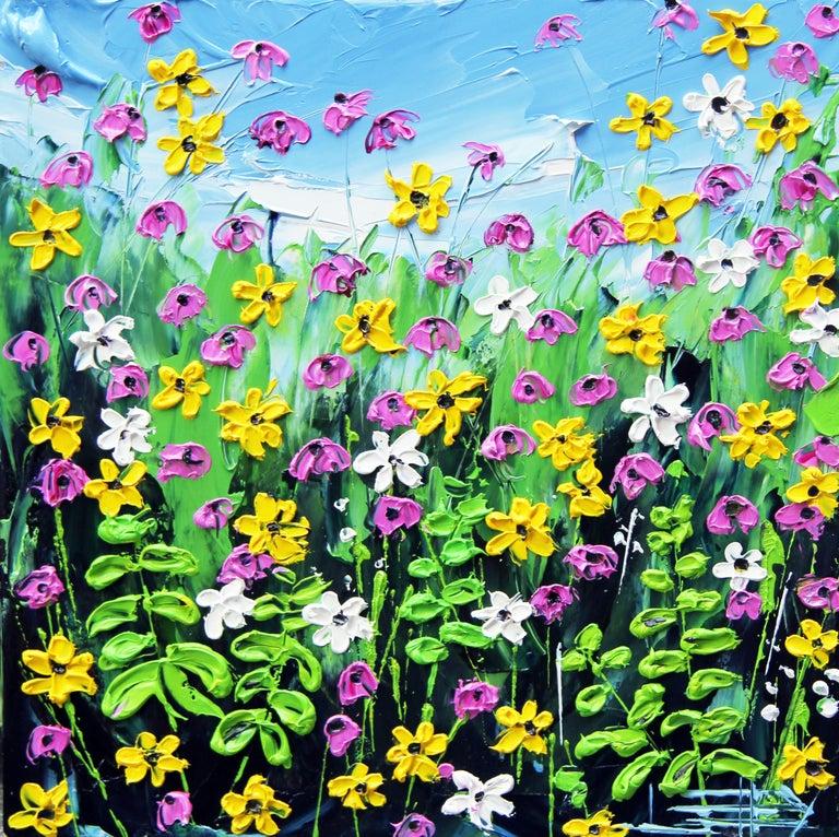 Lisa Elley Still-Life Painting - Garden of Mine