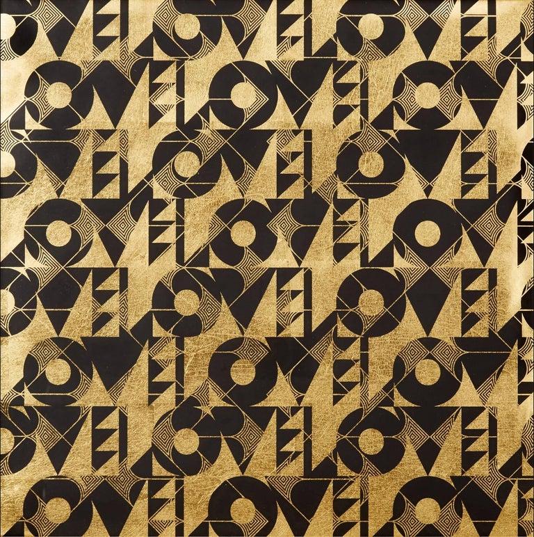 Lisa Hunt Abstract Print - Love and Arrows II