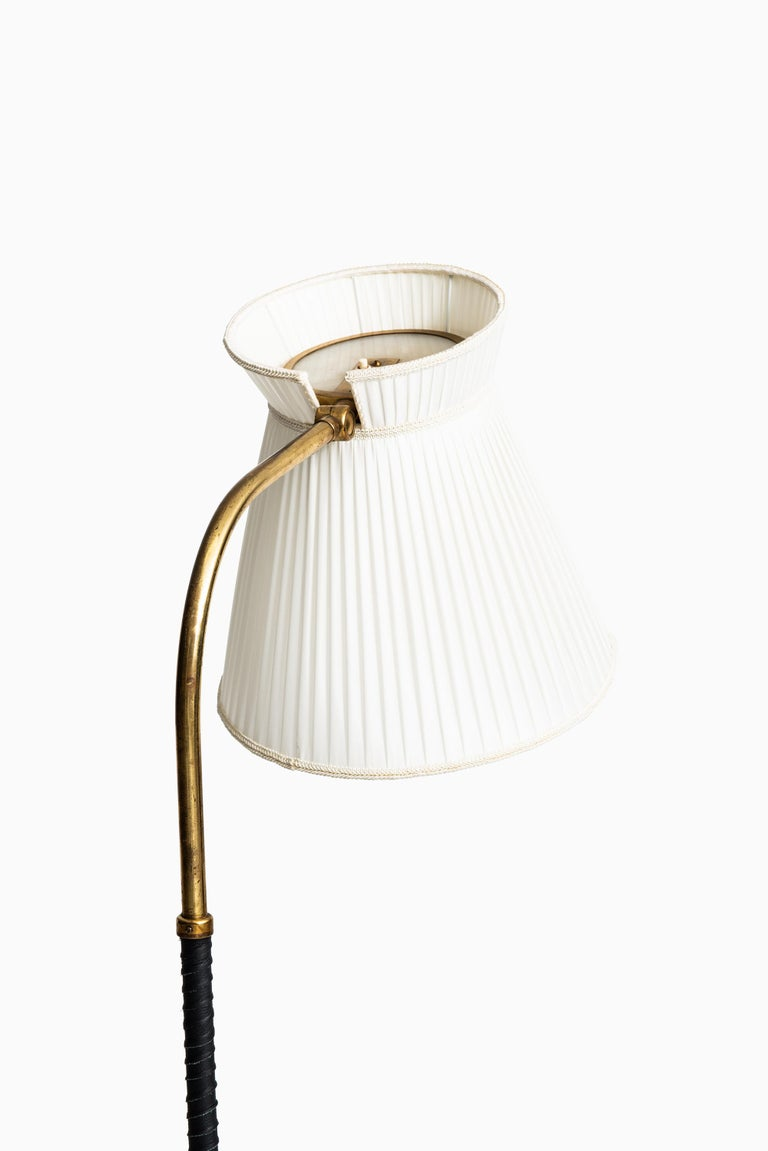 Scandinavian Modern Lisa Johansson-Pape Floor Lamp by Orno in Finland For Sale