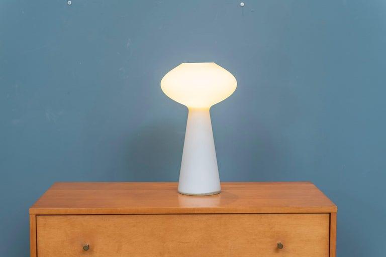 Mid-Century Modern Lisa Johansson-Pape Opaque Glass Lamp For Sale