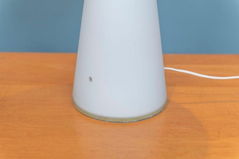 Lisa Johansson-Pape Opaque Glass Lamp For Sale 2