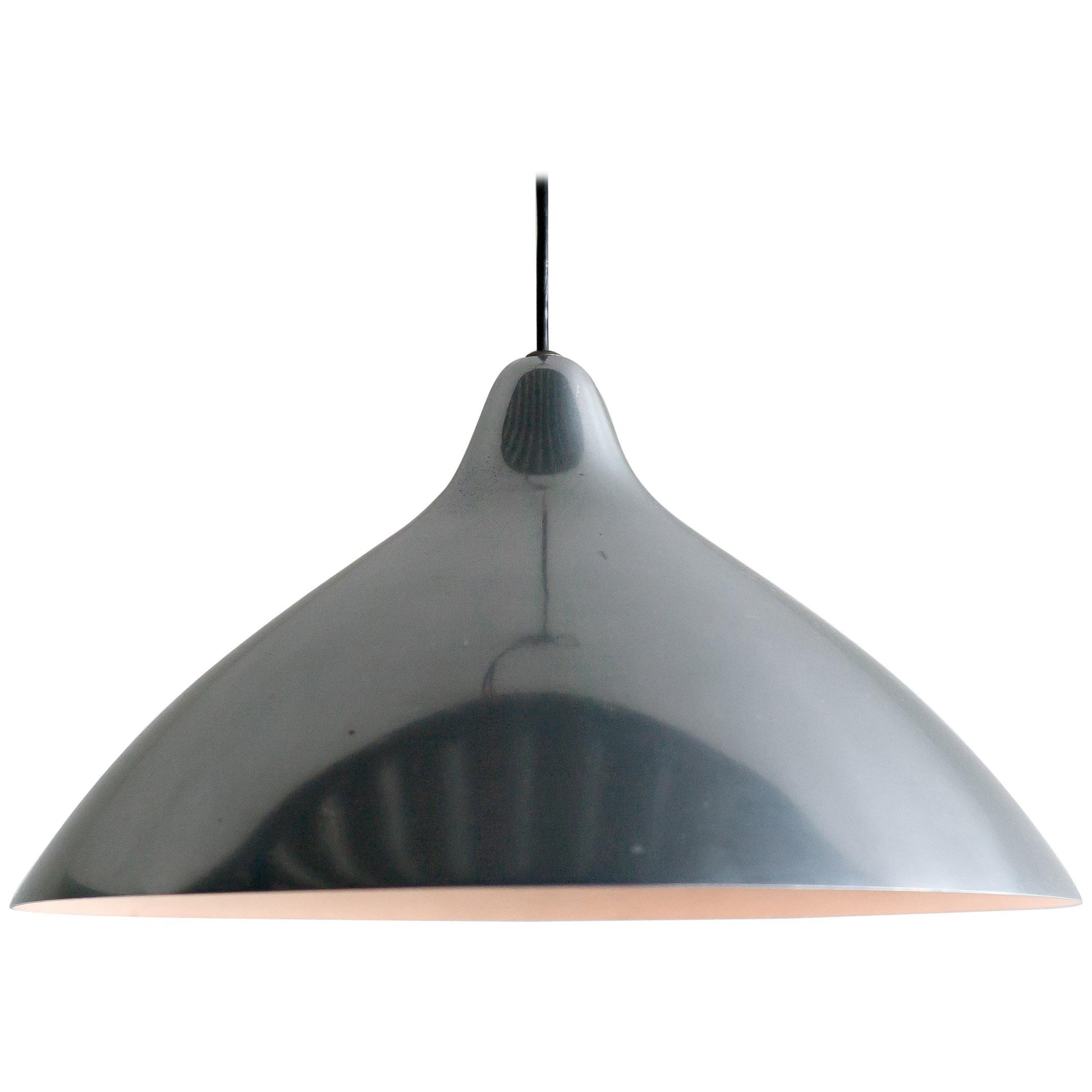 Lisa Johansson-Pape Polished Aluminum Pendant for Stockmann Orno