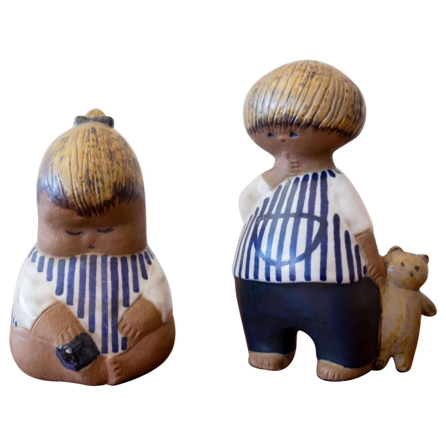 Lisa Larson Ceramic Figures