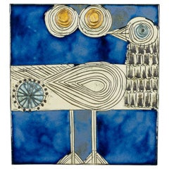 Lisa Larson for Gustavsberg Ceramic Wall Plaque