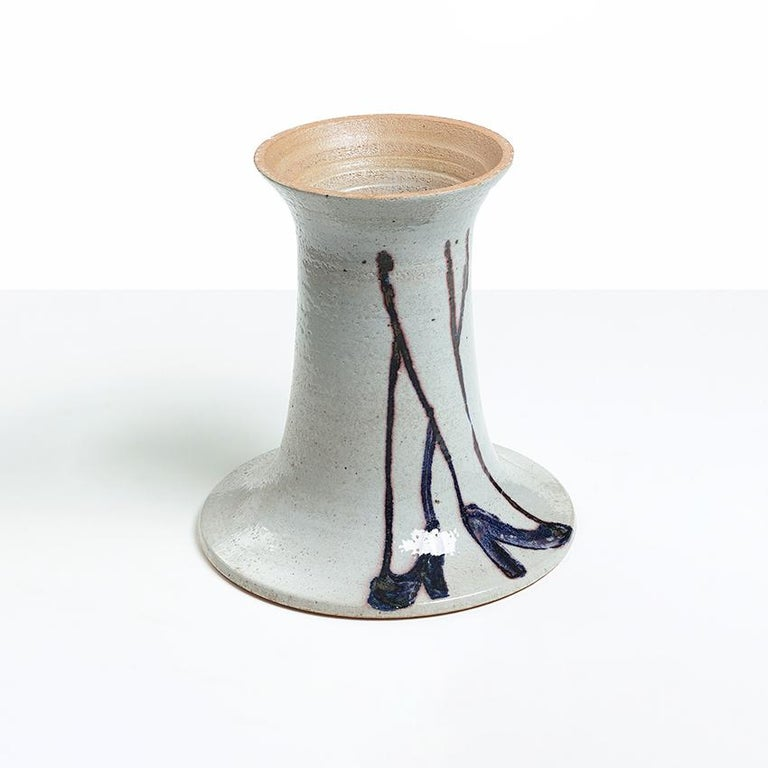 Scandinavian Lisa Larson Unique Ceramic Table