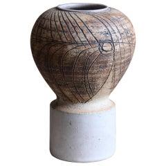 Lisa Larsson, Studio Vase, Stoneware, Gustavsberg, Sweden, 1950s