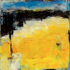 Out Of The Wide Yellow Day Into The Vaulted Night, Painting, Oil on Canvas