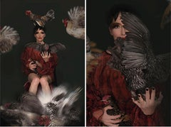 A Beautiful Nightmare and The Birds Nightmare Diptych