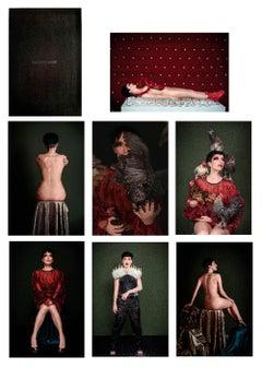 Mnemosyne Portfolio, Limited edition. Seven photographs inside an engraved box