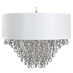 Lisa Pendant Lamp with White Shade