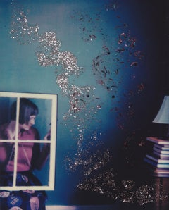 A Room Divided - Contemporary, Figurative, Woman, Polaroid, 21st Century
