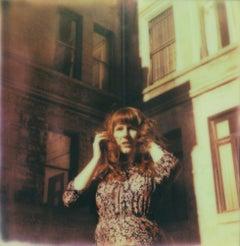 Film Noir - Contemporary, Woman, Polaroid, Interior, 21st Century, Color