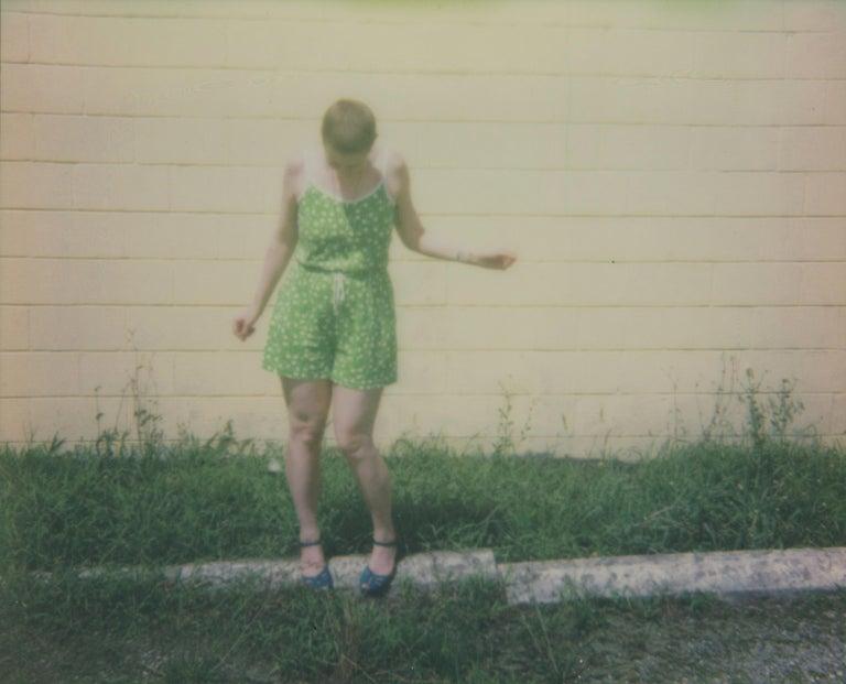 Lisa Toboz Color Photograph - Freedom- Contemporary, Figurative, Woman, Polaroid, Photograph, 21st Century