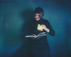 Ghost Story - Contemporary, Woman, Polaroid, Interior