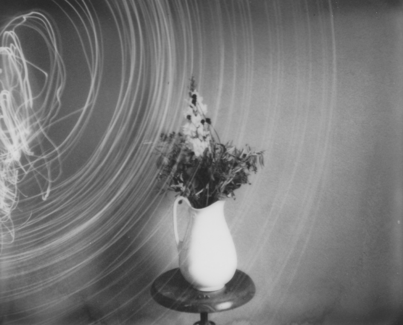 Ghost Story - Contemporary, Woman, Polaroid, Interior