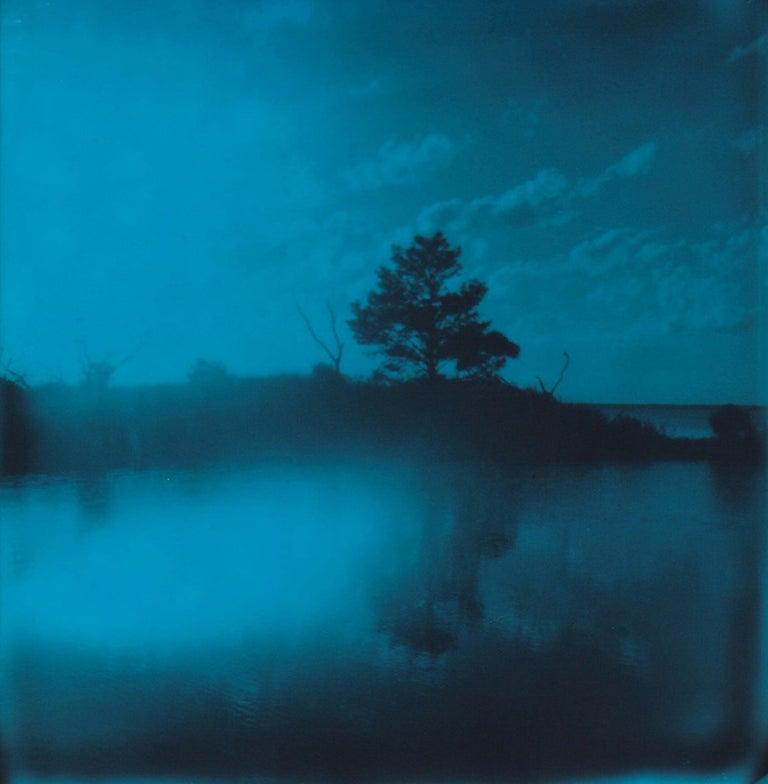 Lisa Toboz Landscape Photograph - Island - Contemporary, Woman, Polaroid, Photography, Landscape, Color, 21st