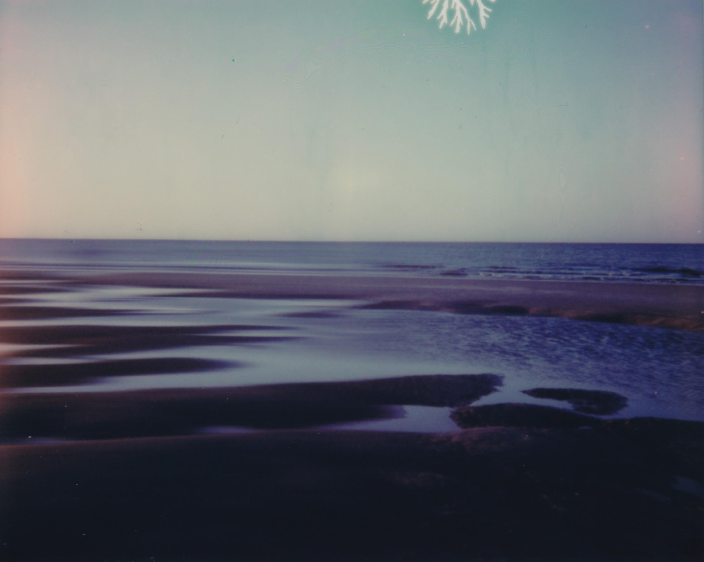 Lunar Sea - Contemporary, Figurative, Woman, Polaroid, Photograph, 21st Century