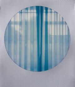 Privacy - Contemporary, Figurative, Woman, Polaroid, 21st Century, Interiors