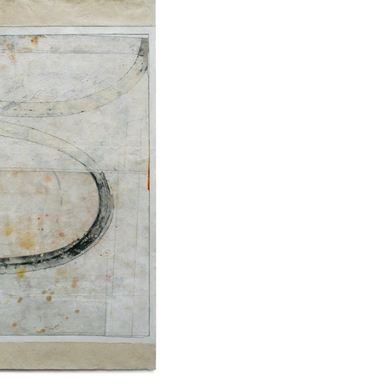 Lisa Weiss  MILKY WAY ink, acrylic, watercolor, graphite, kozo,paper, mulberry paper, lokta paper 47.00 X 25.50 in $1,500.00