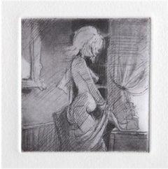 Grace, Etching by Lisa Yskavage
