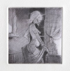 Grace, Etching by Lisa Yuskavage 2001