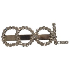LisaC swarovski cool hair clip