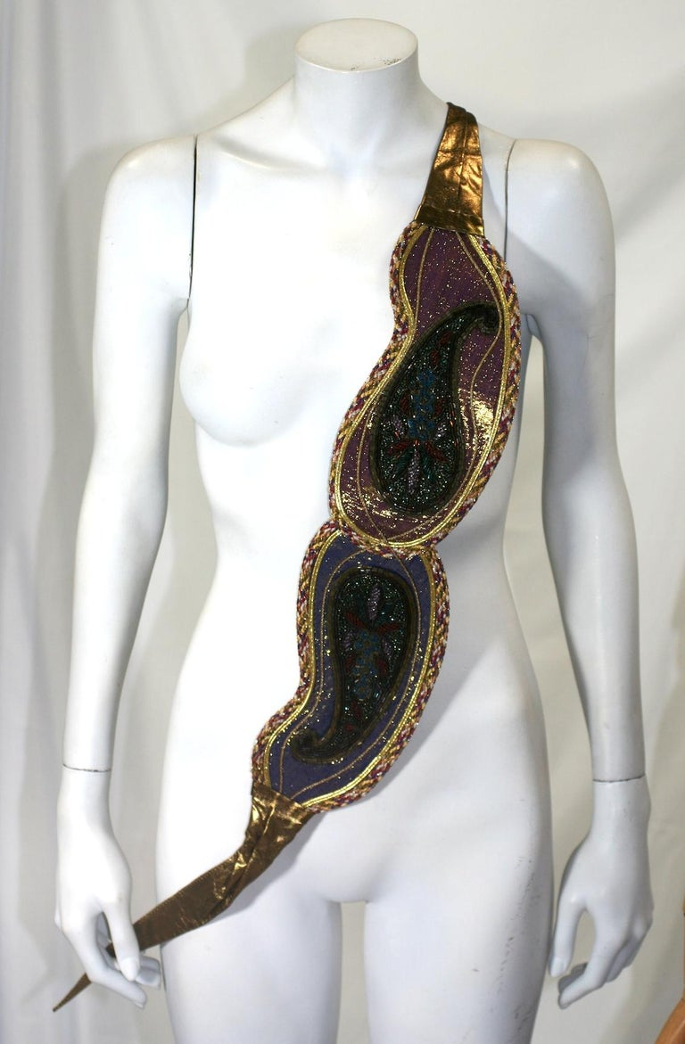 Lisandro Sarasola Extravagant Pieced Belt For Sale 7