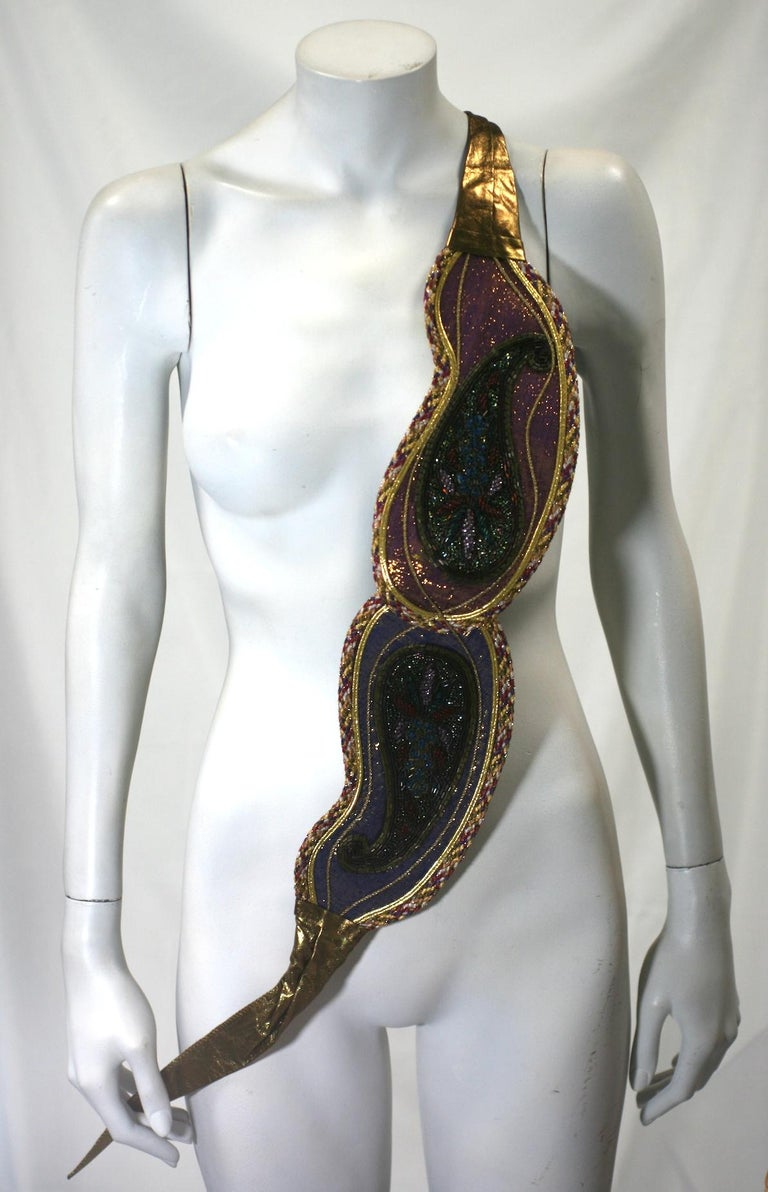 Lisandro Sarasola Extravagant Pieced Belt For Sale 4