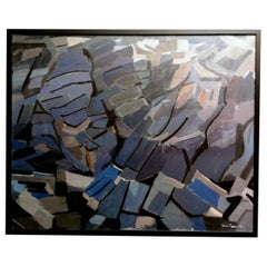 """Lison Favarger Painting """"Composition IV"""""""