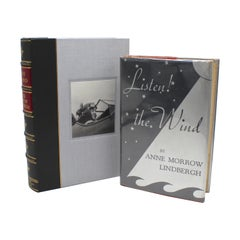 """Listen! The Wind"" First Edition, Signed by Charles & Anne Lindbergh, 1938"