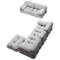 Listing for L Mario Bellini Camaleonda Modular Sofa in Ice Grey Velvet