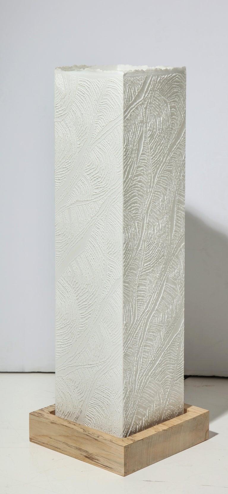 Lit Paper Sculpture by Antonin Anzil, France, 2018 For Sale 3