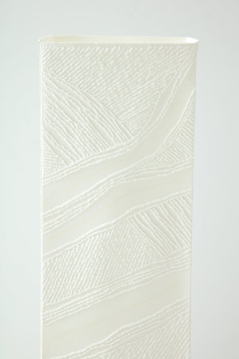 French Lit Paper Sculpture by Antonin Anzil, France, 2018 For Sale