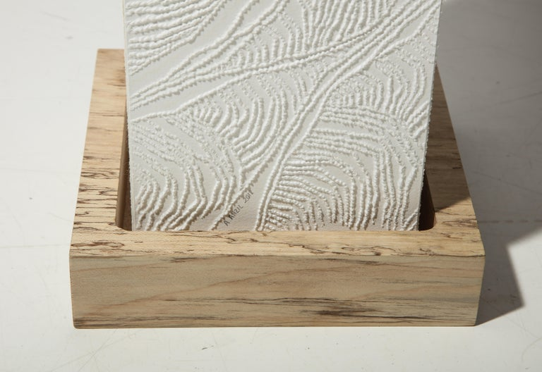 Lit Paper Sculpture by Antonin Anzil, France, 2018 For Sale 1