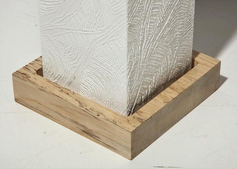 Lit Paper Sculpture by Antonin Anzil, France, 2018 For Sale 2