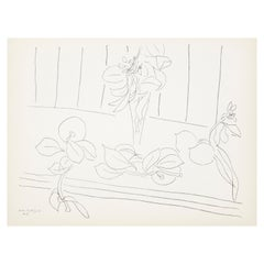 Lithograph after Original Matisse Drawing