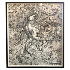 Lithograph by Andy Pruna