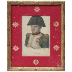 Lithograph of Napoleon