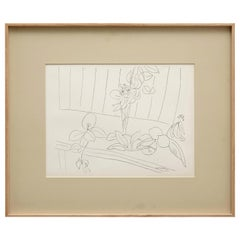 Lithograph Reproduction after Henri Matisse Drawing