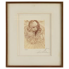 Lithography by S. Dali