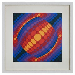 Lithography by Vasarely