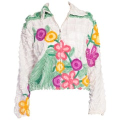 Little Jacket Made from 1940's Cotton Chenille