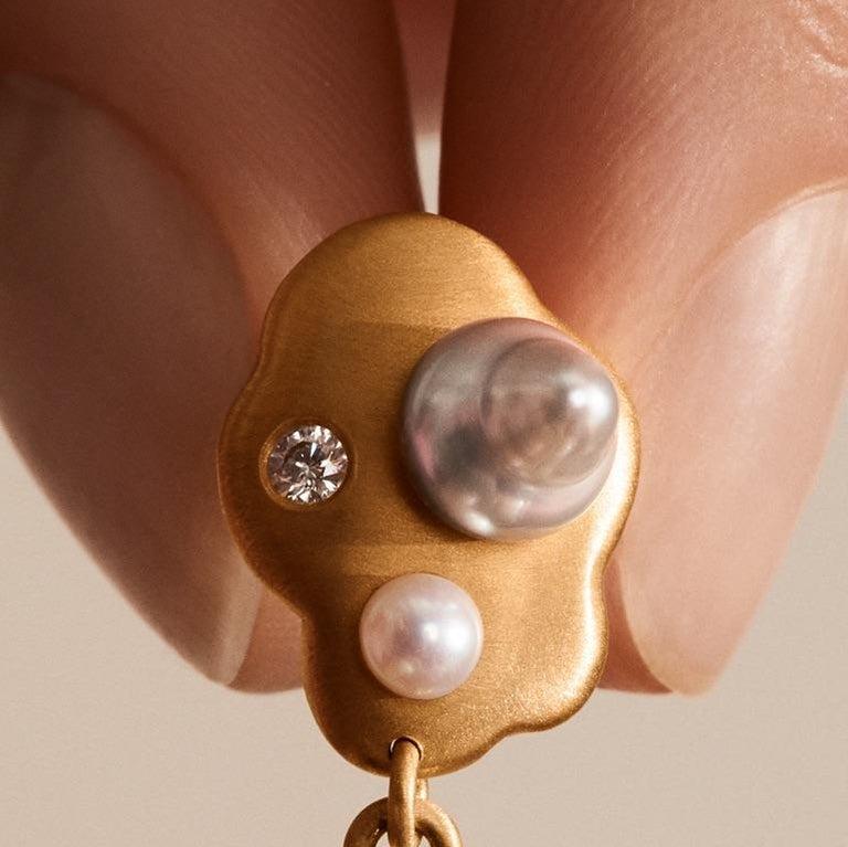 Modern Little Man No 1 Earring by Jo Riis-Hansen For Sale