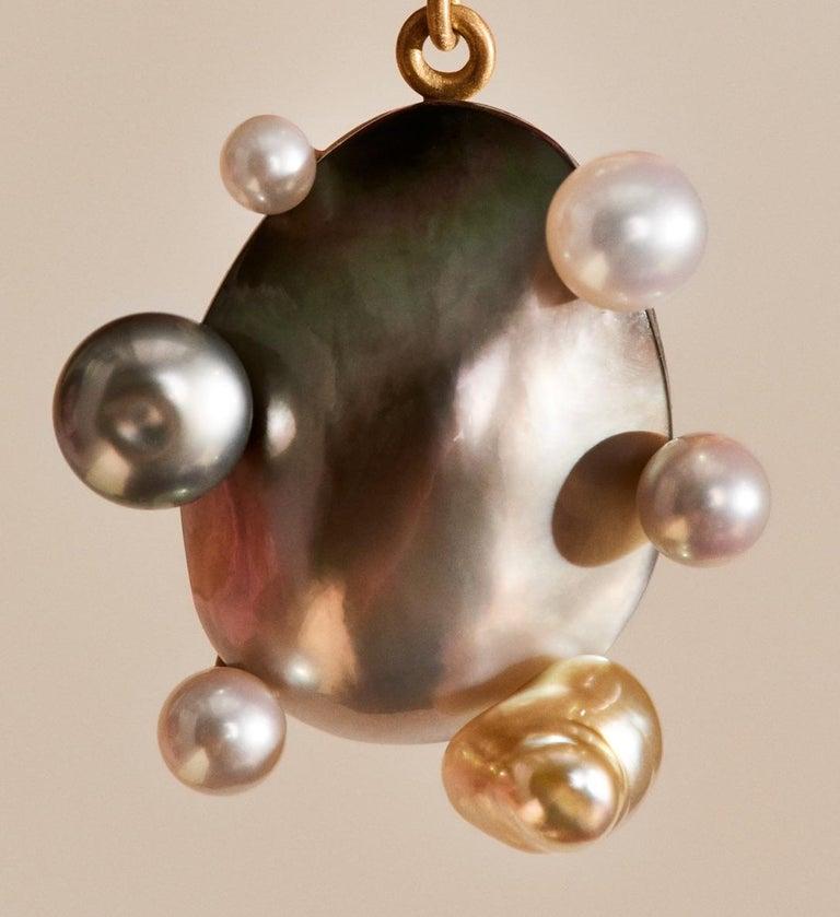 Little Man No 2 Earring by Jo Riis-Hansen In New Condition For Sale In Copenhagen, DK
