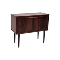 Little Rosewood Dry Bar / Commode in Danish Design, 1960s