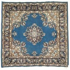 Little Square Kerman Vintage Rug