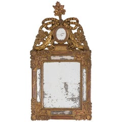 Little Style Mirror in Giltwood, Louis XVI Age, 1774-1793